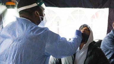 AJ takes coronavirus test ahead of Pulev fight