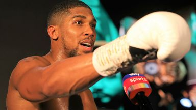Joshua: I'm ready for Fury fight