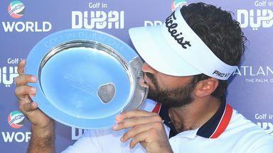 Rozner emotional after Dubai victory