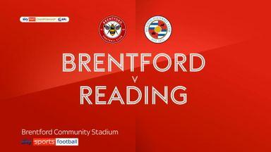 Brentford 3-1 Reading