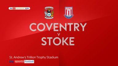 Coventry 0-0 Stoke