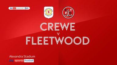Crewe 1-1 Fleetwood