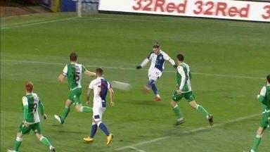 Elliott scores screamer for Blackburn