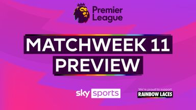 Premier League Matchweek 11 Preview