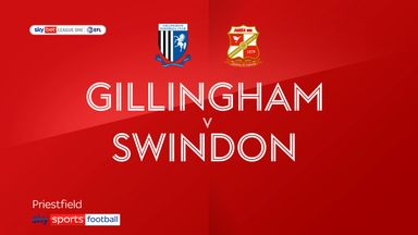 Gillingham 2-0 Swindon