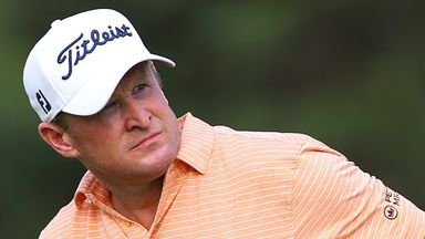 Donaldson shares lead in South Africa
