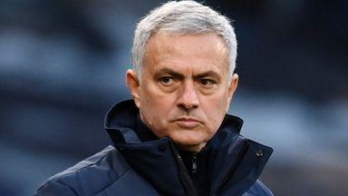 Jose: I've been sent video of Stoke dressing room