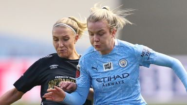 Hemp stunner as Man City progress in UWCL