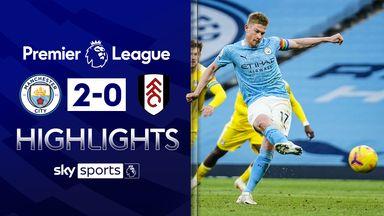 De Bruyne stars in win over Fulham