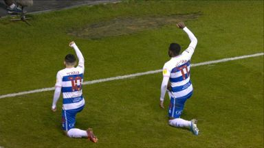 Chair takes a knee after putting QPR ahead