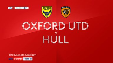 Oxford Utd 1-1 Hull City