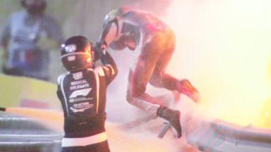FIA launch investigation into Grosjean crash