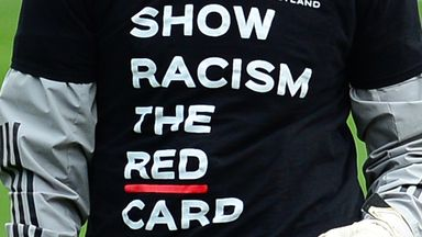 'More has to be done about racist abuse'