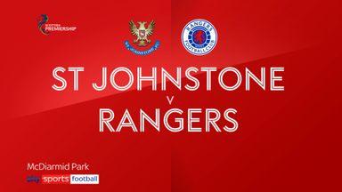 St Johnstone 1-1 Rangers