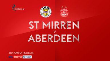 St. Mirren 1-1 Aberdeen
