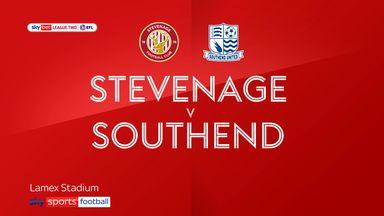 Stevenage 0-0 Southend