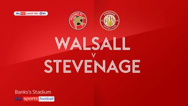 Walsall 1-1 Stevenage