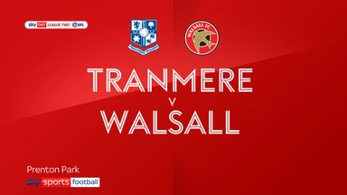 Tranmere 1-3 Walsall