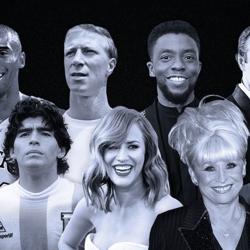 Celebrities we said goodbye to in 2020