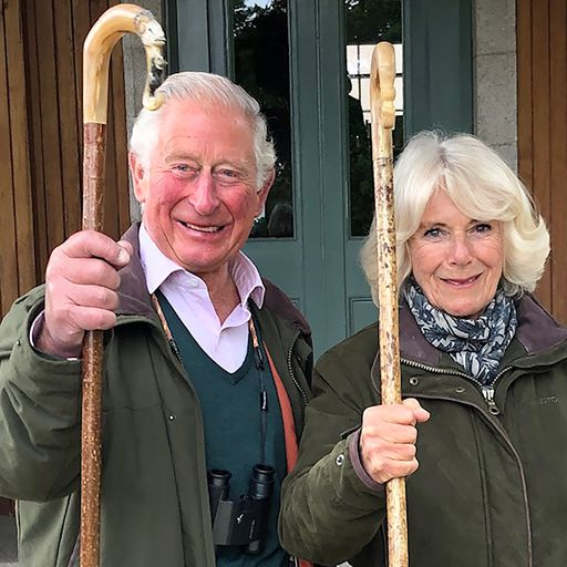Charles and Camilla release new festive photo
