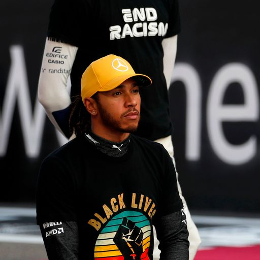 Lewis Hamilton 'very humbled' after Silverstone names pit straight after him