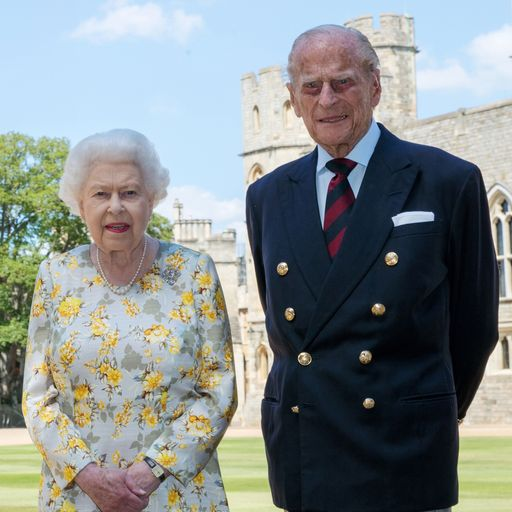 Duke of Edinburgh was the Queen's 'strength and stay'