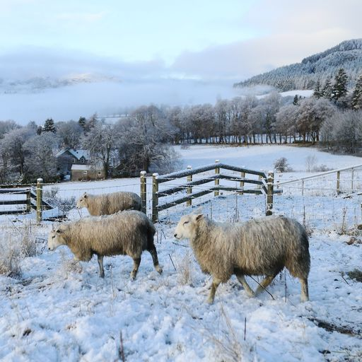 'Thundersnow' forecast in parts as temperatures set to plunge over Easter weekend