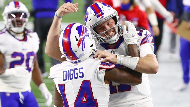 Buffalo Bills 38-9 New England Patriots: Josh Allen breaks Jim Kelly franchise record in resounding victory |  NFL News