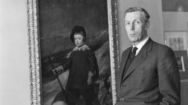 Anthony Blunt was also an art historian - his spying exploits were not made public until 1979