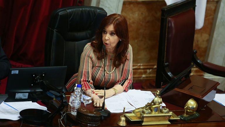 Vice President Cristina Fernandez de Kirchner had reversed her opposition to the legislation