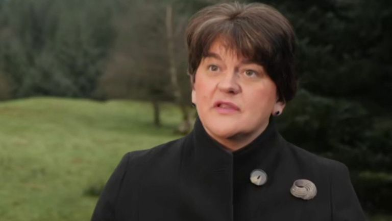 Northern Ireland first minister Arlene Foster