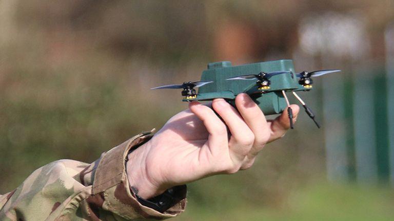BAE's new 'Bug' nano drone