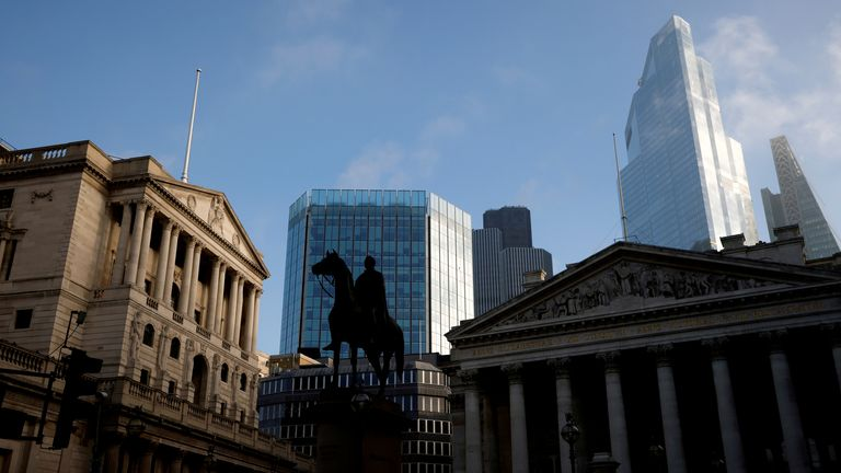 The Bank of England and the City of London