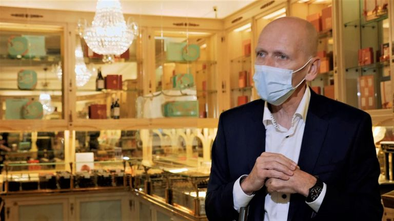 Neuhaus is one of the oldest and most famous chocolate producers in the country and the company's CEO Ignace Van Doorselaere says it has a special place in Belgian culture.