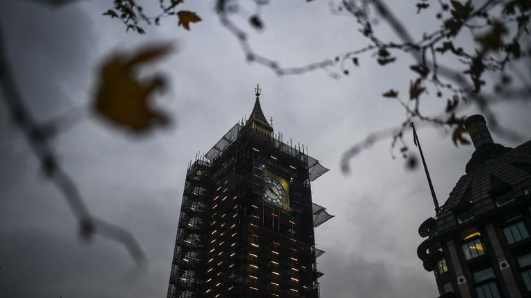 Big Ben being tested ahead of New Year's Eve to ensure it can issue its 12 bongs to mark the new year