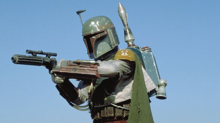Boba Fett. Pic: Lucasfilm/Fox/Kobal/Shutterstock