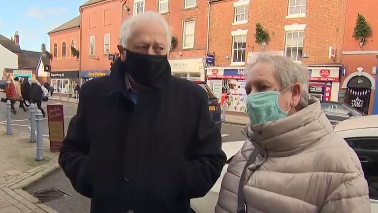 Jeff and Rosemary Henson were not especially impressed that Boris Johnson had got a deal