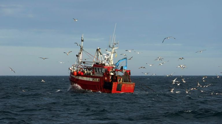 Fishing rights are sticking point in the negotiations