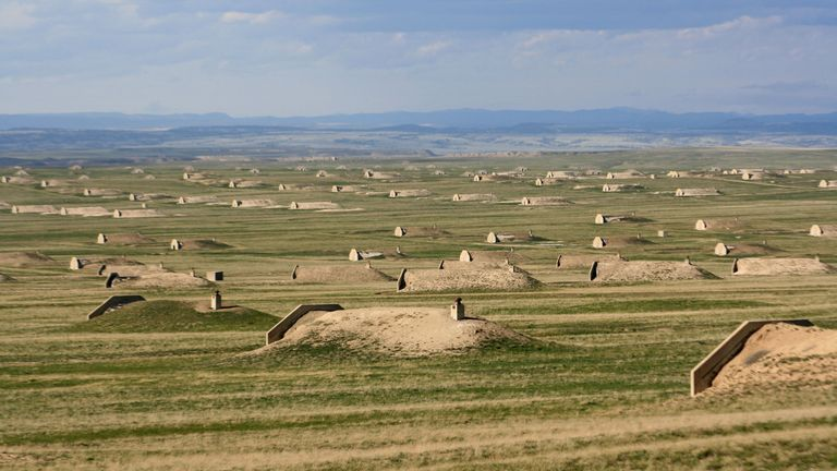 There are 575 Vivos bunkers in South Dakota. Pic: The Vivos Group