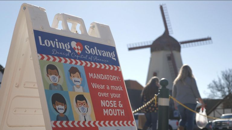 Solvang is two hours away from Los Angeles