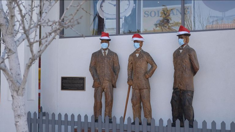 Solvang said they want to help businesses during the holiday season
