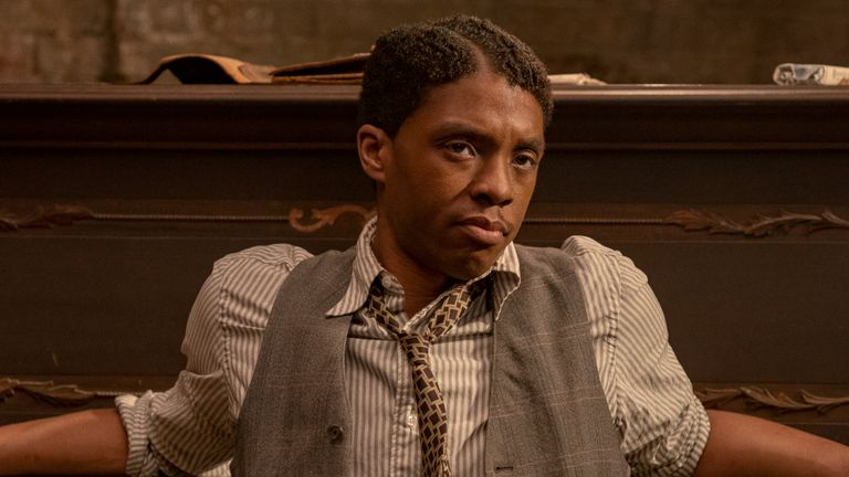 Chadwick Boseman's final screen performance in Ma Rainey's Black Bottom. Pic: Netflix