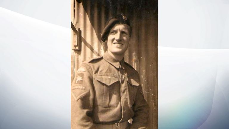 Bob Sullivan is a D-Day veteran. Pic: Royal Hospital Chelsea
