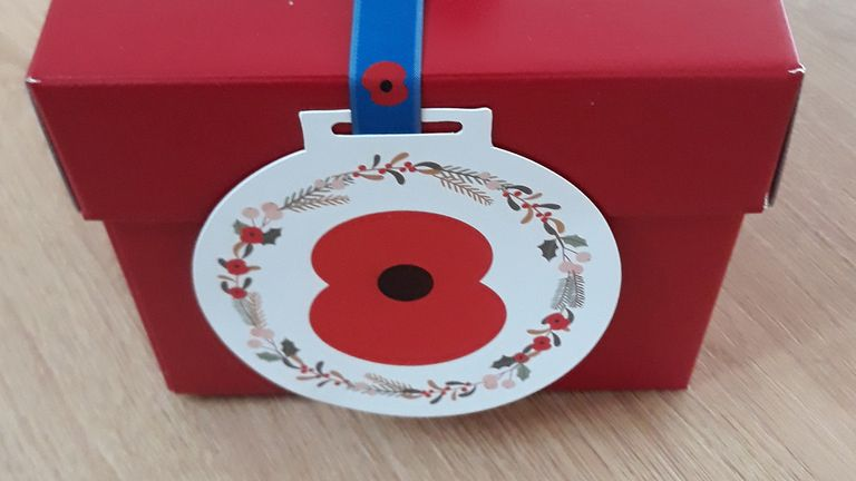 The RBL has sent 99 puddings to armed forces communities at home and abroad