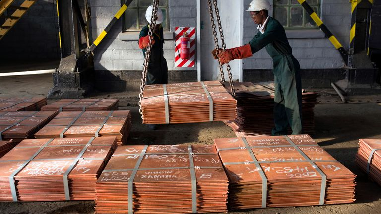 Copper prices took a hammering at the start of the COVID crisis on fears of a plunge in Chinese demand
