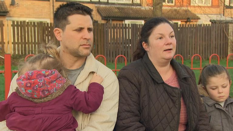Kirsty says she is most upset about not being able to see her dad