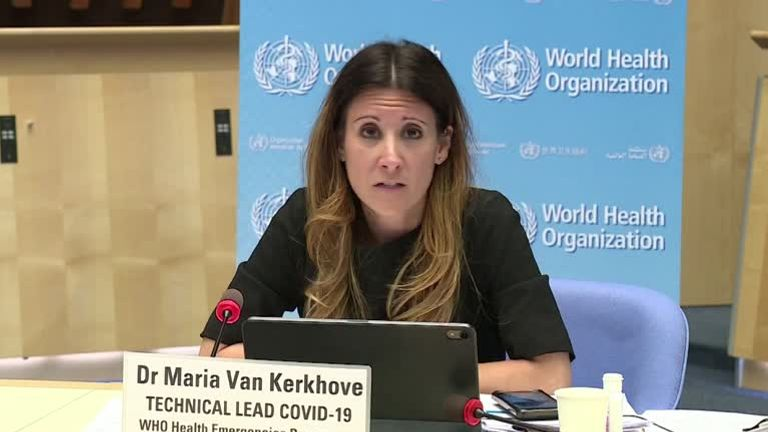 Maria Van Kerkhove, COVID-19 Technical Lead of the WHO's Health Emergencies Program