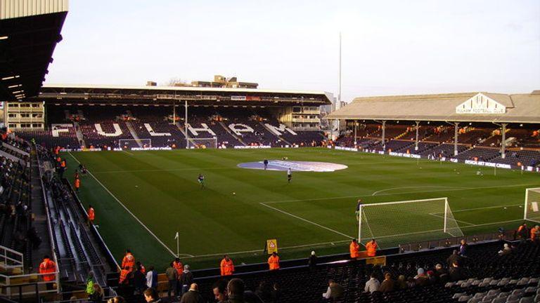 Craven Cottage, Fulham's football stadium. Pic: Kenneth Yarham