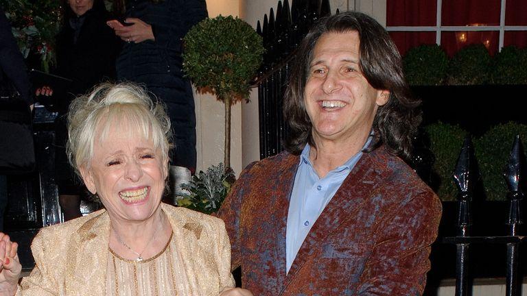Dame Barbara Windsor with her husband Scott Mitchell