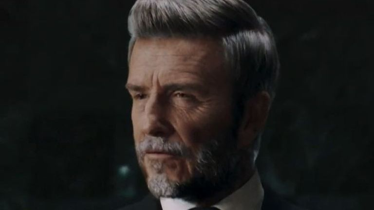 David Beckham looks quite a lot older in this Malaria Must Die campaign video